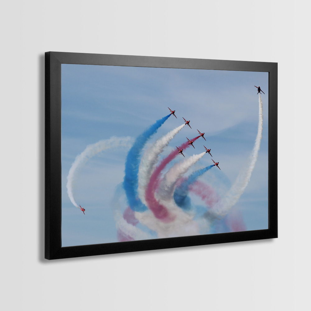 Red Arrows Framed Prints - Photo 2