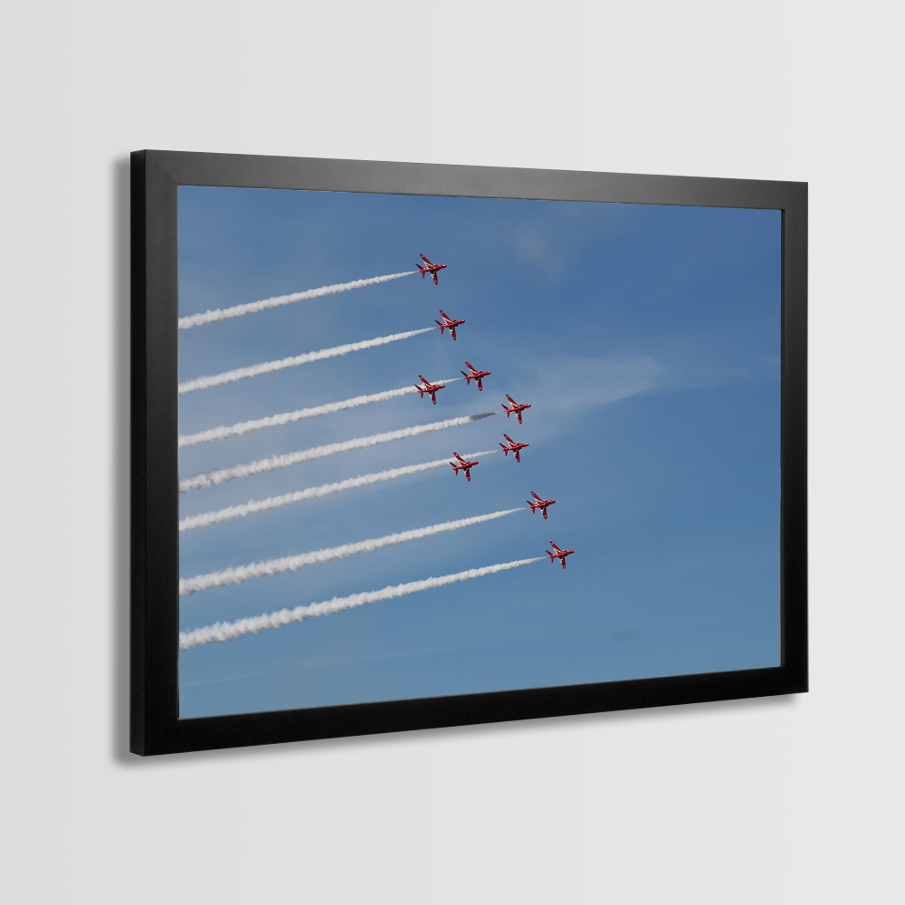 Red Arrows Framed Prints - Photo 3