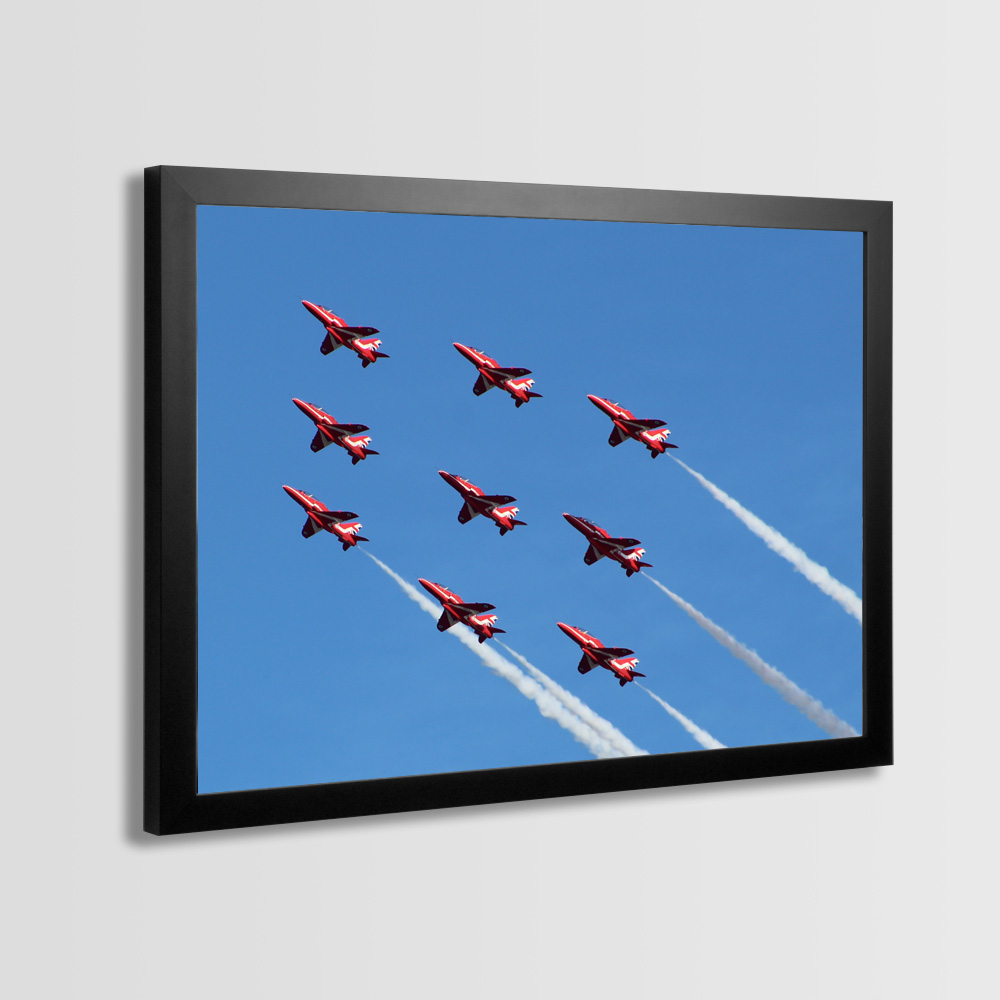 Red Arrows Framed Prints - Photo 4