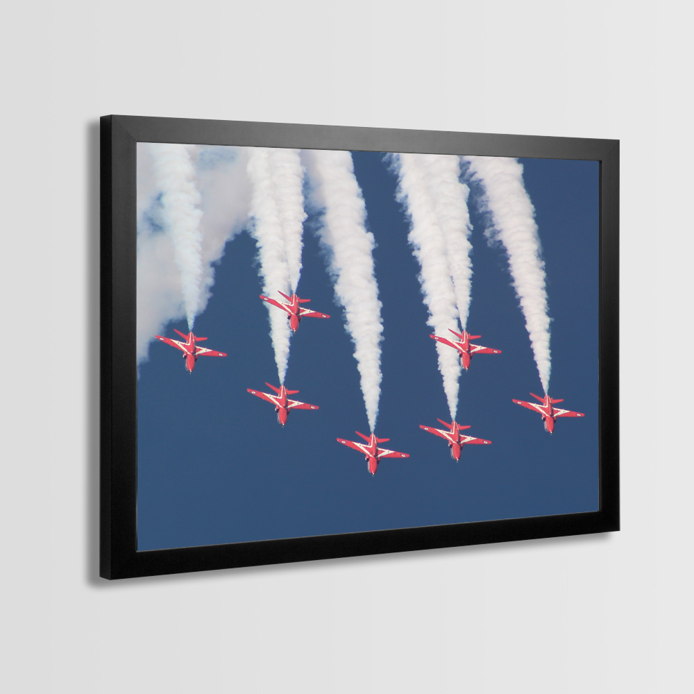 Red Arrows Framed Prints - Photo 5