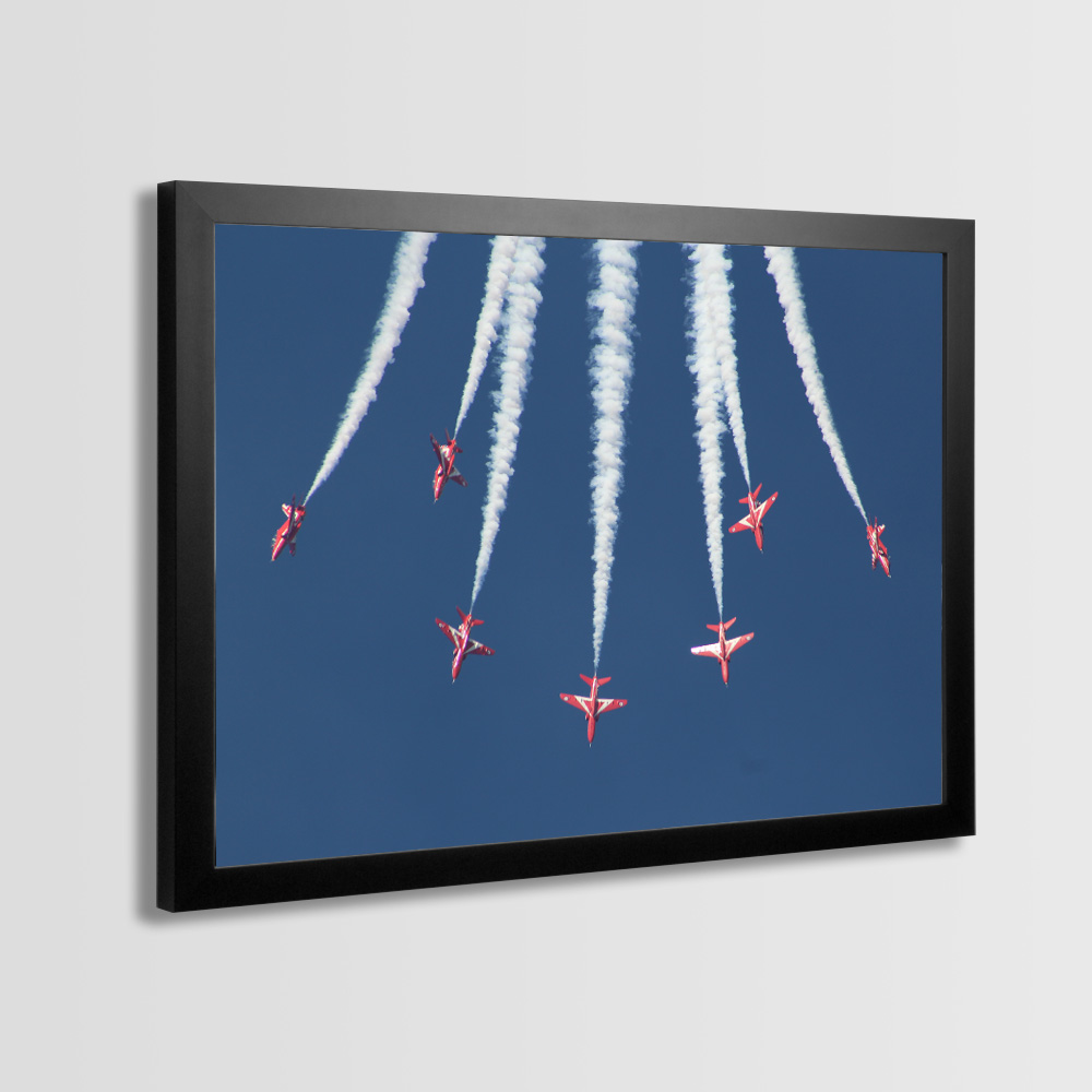 Red Arrows Framed Prints - Photo 6