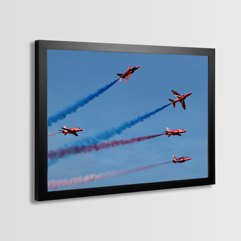Red Arrows Framed Prints - Photo 7