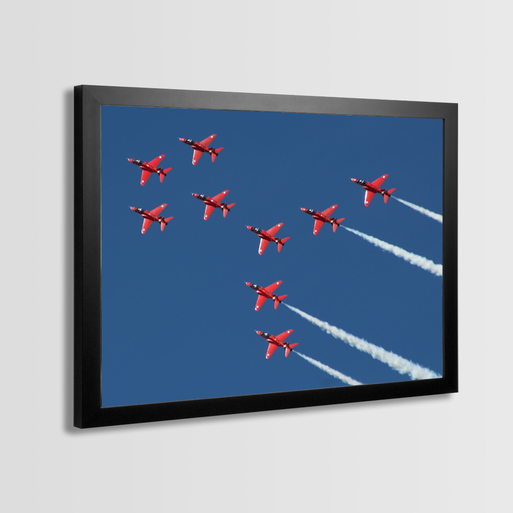 Red Arrows Framed Prints - Photo 8