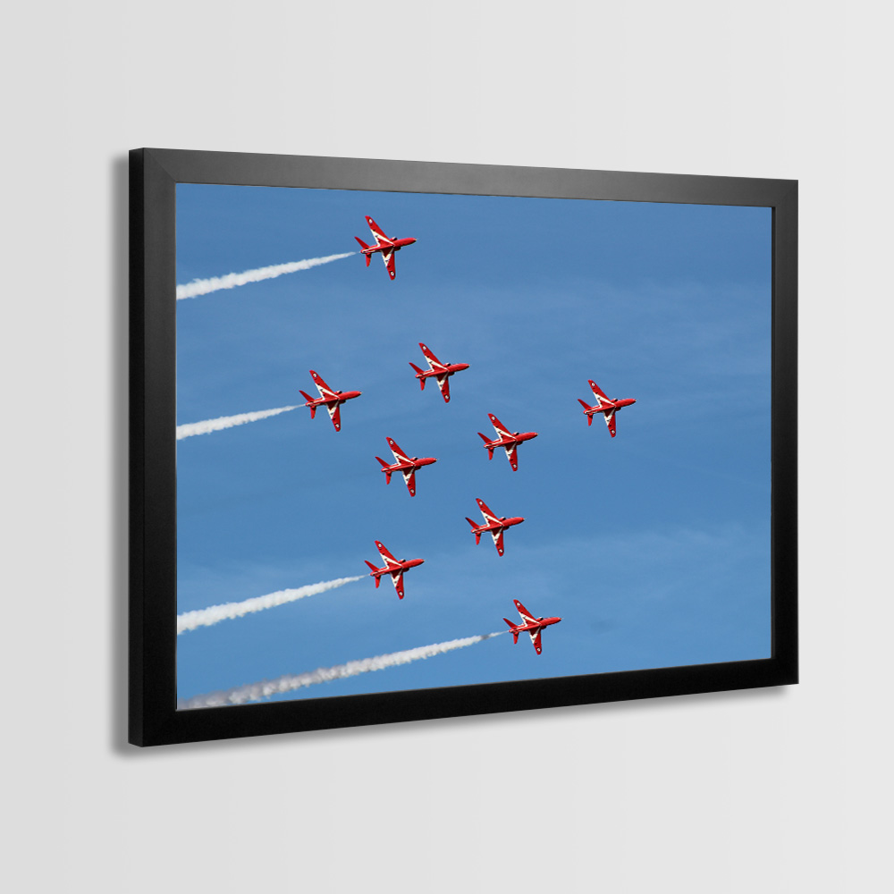 Red Arrows Framed Prints - Photo 9