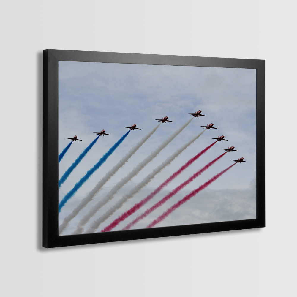Red Arrows Framed Prints - Photo 12