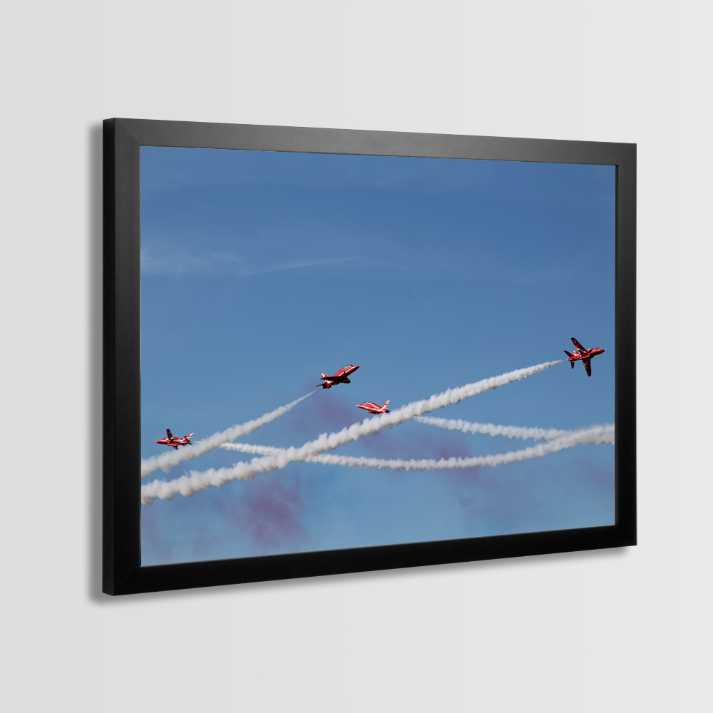 Red Arrows Framed Prints - Photo 13