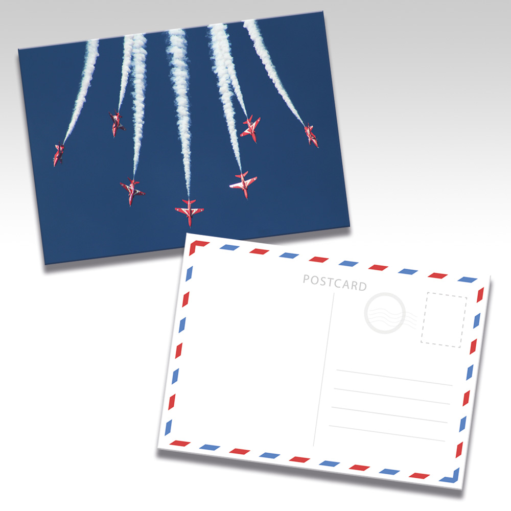 Red Arrows Postcards - Photo 1