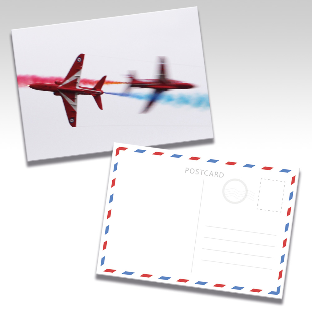 Red Arrows Postcards - Photo 3