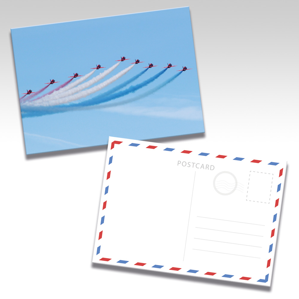 Red Arrows Postcards - Photo 4
