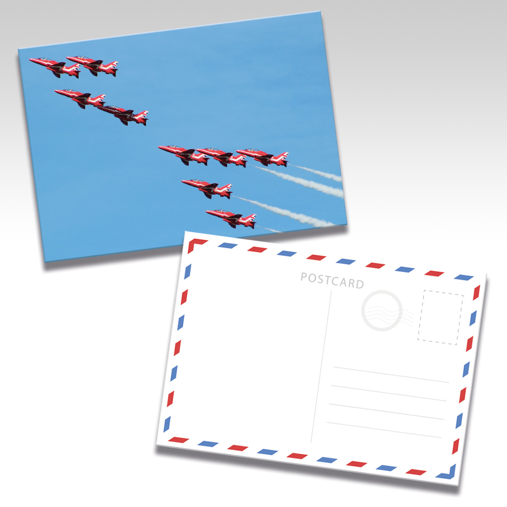 Red Arrows Postcards - Photo 5