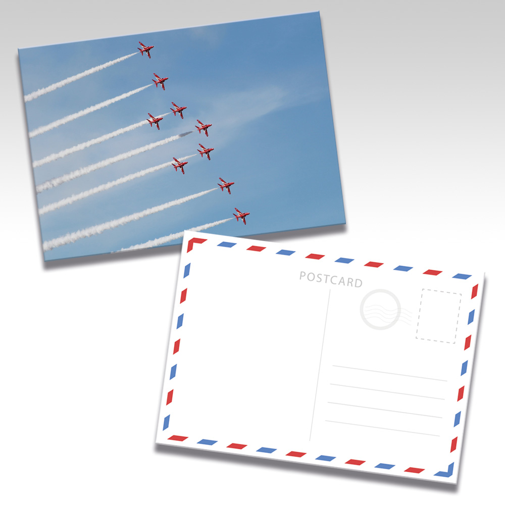 Red Arrows Postcards - Photo 8