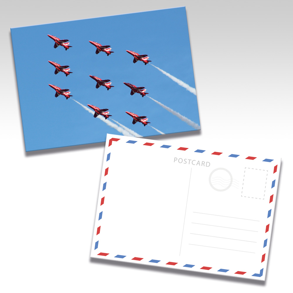 Red Arrows Postcards - Photo 9