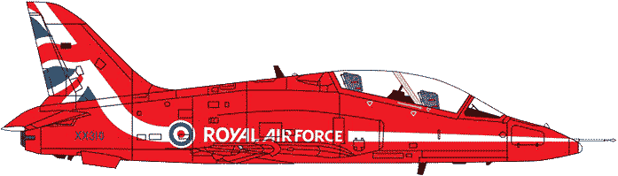 Red Arrows Magnetic Printed Graphics